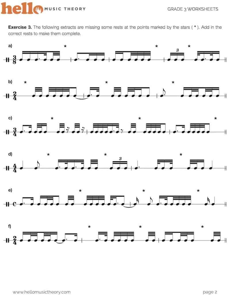 grade-3-music-theory-worksheet-demisemiquavers