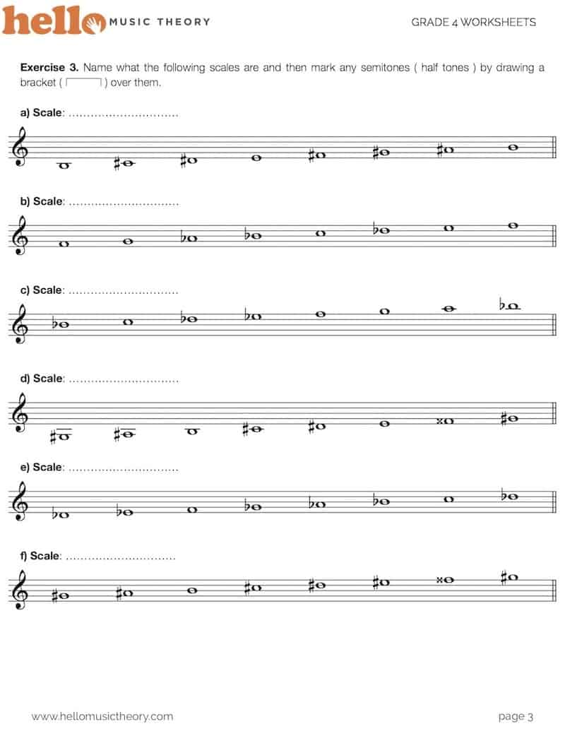 Grade 4 Music Theory Worksheets | Hello Music Theory