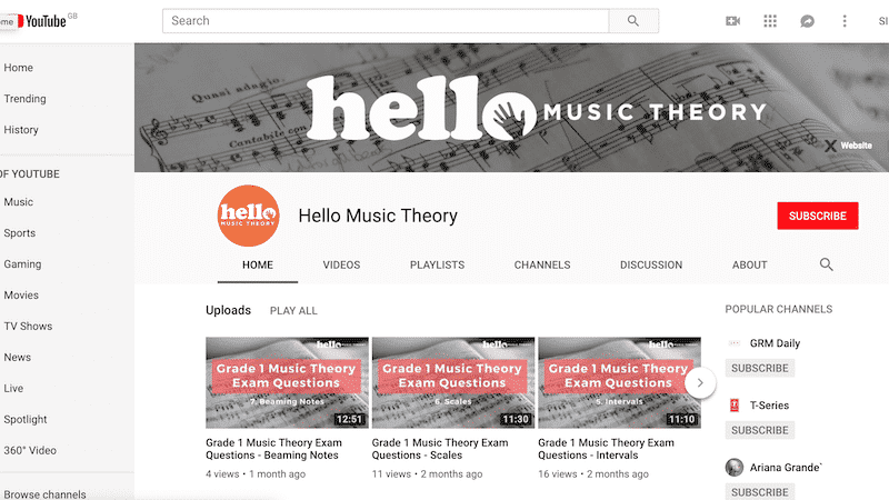 The Best Youtube Channels To Learn Music Theory Hellomusictheory