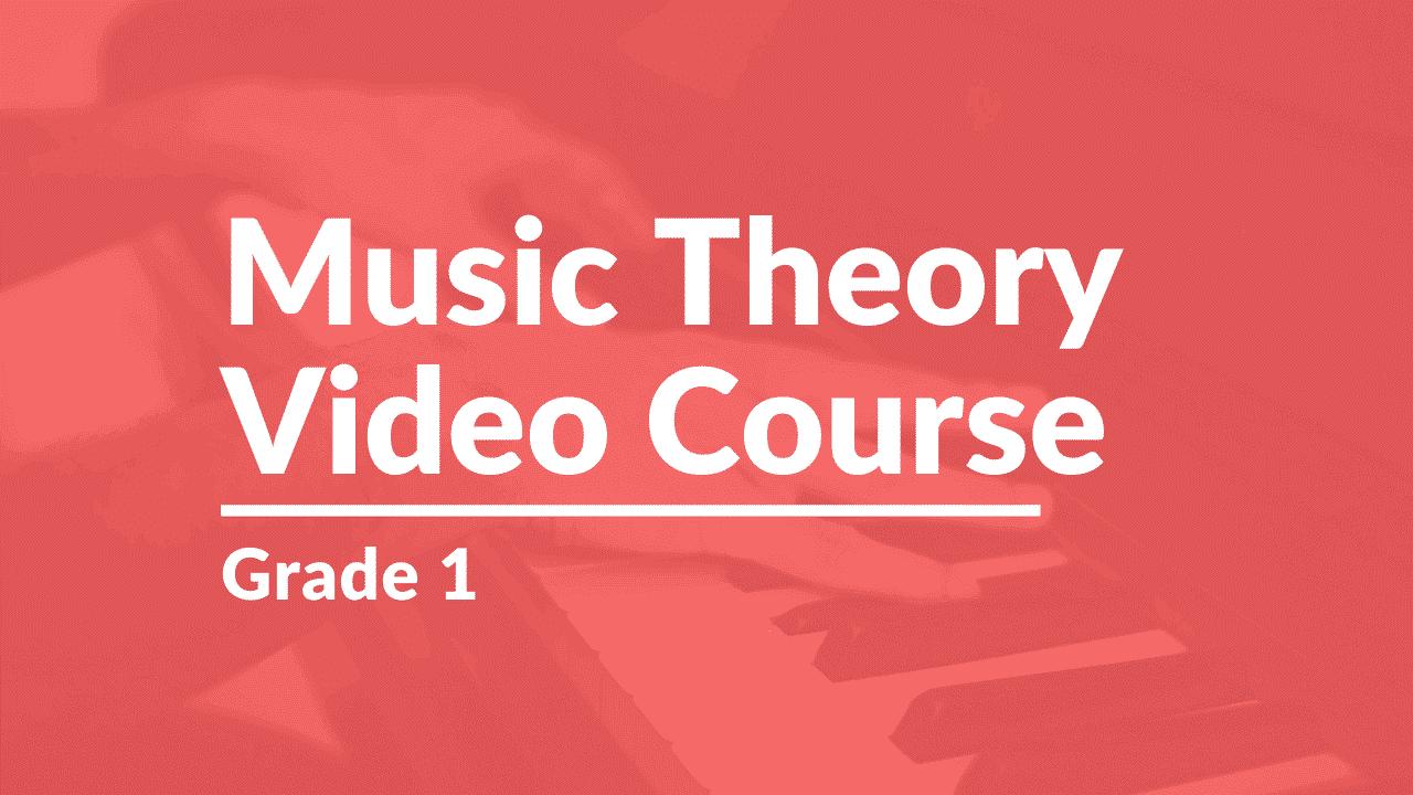 video course - grade 1
